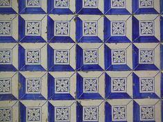 Lisbon -old #portuhuese tiles - azulejos
