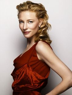 Cate Blanchett- very talented