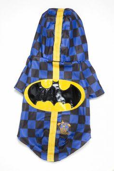Capa de chuva Batman