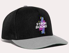 Snapback Cap varastossa. Painamme tuotteen sinua varten tilauksen jälkeen. Toimitusaika: 3-6 työpäivää. Retrotyylinen lippis. Koko säädettävissä takana olevalla kiinnityksellä, tasainen kupu. 100 % polyesteriä. Takana, Baseball Hats, Strong, Youtube, Fashion, Moda, Baseball Caps, Fashion Styles, Caps Hats