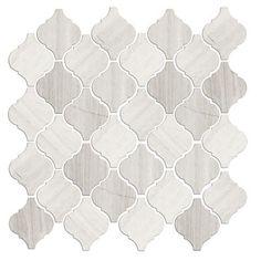 Legno Arabesque Limestone Mosaic Tile