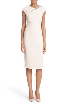 Ted Baker London 'Floray' Embellished Sheath Dress available at #Nordstrom