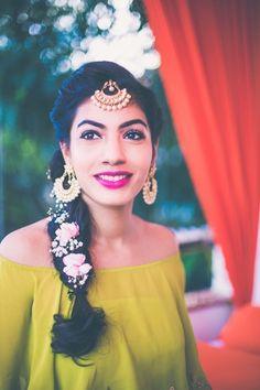 Modern Indian bridal makeup