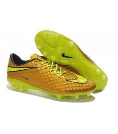 Crampon de Foot Nike Hypervenom Phantom Neymar Premium FG Or Volt pas chere Nike Soccer, Soccer Cleats, Neymar, Mario Balotelli, Nike Gold, Football Shoes, Adidas, Nike Men, Stylish