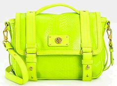 lovin this neon bag!