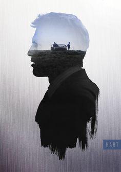 """True Detective """"The world needs bad men. We keep the other bad men from the door."""""""