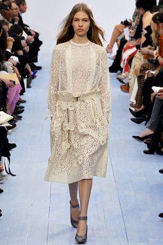 Chloé Fall 2012 Ready-to-Wear Fashion Show - Amanda Nimmo (ELITE)