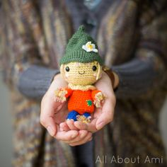 Autumn #crochet pattern - scarecrow - from All About Ami