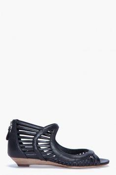 sigerson morrison: lattice sandals