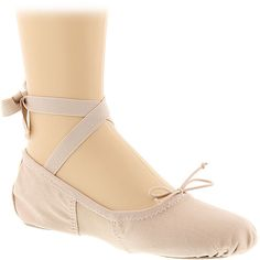 Dance Class Canvas Ballet (Girls' Toddler-Youth) ($19) ❤ liked on Polyvore featuring shoes, flats, pink, ballet pumps, pink ballet flats, canvas flats, pink flats and ankle wrap ballet flats