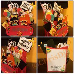 Birthday cascade card