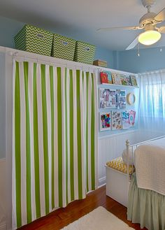 Closet doors are crucial, but typically forgotten when it comes to room decoration. Develop a face-lift for your space with these closet door ideas. It is needed to develop one-of-a-kind closet door ideas to beautify your house design. Replacing Closet Doors, Curtains For Closet Doors, Old Closet Doors, Kids Room Curtains, Wardrobe Doors, Room Doors, Curtain Closet, Kid Closet, Closet Bedroom
