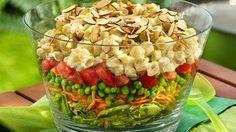 layered salads on Pinterest | Layered Salads, Curry Pasta Salad and ...