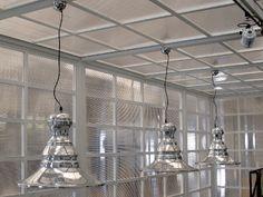 LISA lamp in showroom #industriallighting #pendantlamp