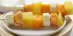 Brochettes de fruits exotiquesDécouvrez la recette des Brochettes de fruits exotiques