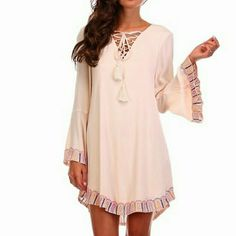 RETAIL COMING SOON NWT Embroidered Tunic Dress Small, Medium and Large available soon.    LET ME KNOW WHAT SIZE YOU WOULD LIKE AND I WILL MAKE A SEPARATE LISTING FOR YOU Dresses