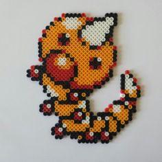 Weedle in Perler bead form!
