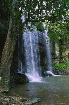 "Sheldrick Falls - Kenya, Africa .................. #GlobeTripper® | https://www.globe-tripper.com | ""Home-made Hospitality"" | http://globe-tripper.tumblr.com/"