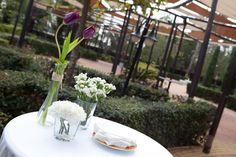 Jardín y zona cóctel para bodas y eventos