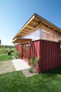 DIY Shed - modern - exterior - minneapolis - M Valdes Architects PLLC
