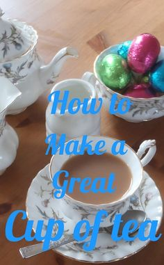 How to Make a Great cup of Tea http://www.squidoo.com/how-to-make-a-great-cup-of-tea