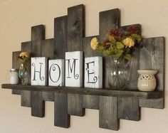 Trendy Reclaimed Wood Furniture And Decor Ideas For Living Green (07) #shabbychickitchenideas