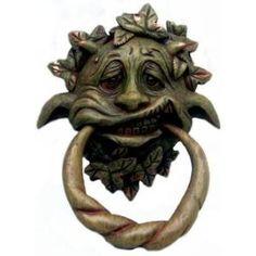 Ghoulish gothic gargoyle door knocker doorknocker