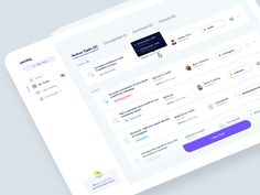 Workly - My Tasks List designed by Filip Justić for Balkan Brothers. Connect with them on Dribbble; Dashboard Ui, Dashboard Design, Ui Ux Design, User Interface Design, Design Layouts, Web And App Design, Design Websites, Flat Web Design, Mobile App Design