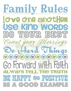With different colors, but I love these rules. Want it HUGE on my living room wall.