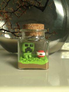 Minecraft  Creeper by FedCreations on Etsy, $19.95