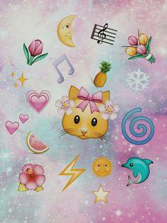 Galaxy Heart Emoji emoji galaxy by michelle we heart it