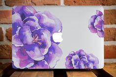 MacBook Air 13 Case MacBook Pro Hard Cover MacBook Retina 15 Case MacBook 12 Case MacBook Accessories MacBook 11 Case Purple Corner Flower