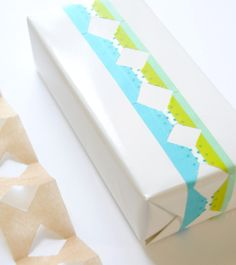 DIY: Layered Borders with Masking Tape - Home - Creature Comforts - daily inspiration, style, diy projects + freebies