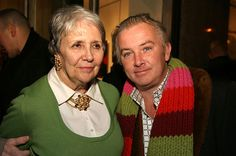EDIE SEDGWICK EXHIBITION: Marie Claire and gallery owner Martin Gallagher‬, Andy Warhol Pop Art Superstar ‪Edie Sedgwick Exhibit opening party at Gallagher's Art & Fashion Gallery‬: Unseen Photographs of a Warhol Superstar, Gallagher's Art and Fashion Gallery, February 2, 2005, New York City. #EdieSedgwick #AndyWarhol #PopArt #Superstar #FashionIcon #YouthQuaker #Sixties