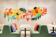 HEKKER  Interieurbouw - Interieurbouw Café Flor op Schiphol Airport - TOOKO – Inspiratie voor een exclusieve werkomgeving Sound Design, Game Design, Icon Design, Print Design, Fashion Graphic Design, Architecture Visualization, Art Furniture, Automotive Design, Interactive Design