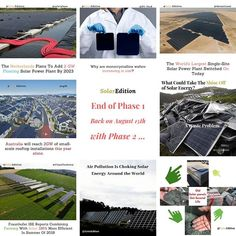 End of Phase 1 and Back On The Of August With Phase ---------------------------------------- Source: Photo: . All rights to go to the author of the news & image as mentioned above ------------------------------------------- Solar Energy, Solar Power, Singles Sites, Phase 2, Worlds Largest, To Go, Author, How To Plan, News