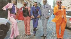 "Inspiration3: ""Sape"" comes from a French slang that means ""dressing with class"" and the term Sapeur is an African word that refers to someone that is dressed with great elegance. Their fashion was originated in Brazzaville and Kinshas, 2 capital cities in the Republic of Congo and Democratic Republic of Congo."