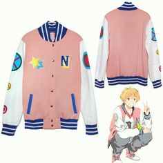 Walson Wholesale Anime Free! Long Sleeve Hoodie Cosplay Costume Hazuki Nagisa Jacket lady's autumn cotton hoody pink color