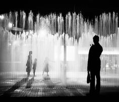 I always wanted to run through a fountain at midnight...