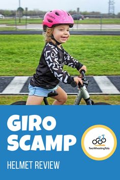 The Giro Scamp helmet is one of our favorite bike helmets for kids around! In this video we share 4 of the reasons the Giro Scamp is at the top of our list! Click through to watch the full video! Bike Helmets, Bike Equipment, Cycling Motivation, Hydration Pack, Kids Bike, Watch, Top, Clock, Bracelet Watch