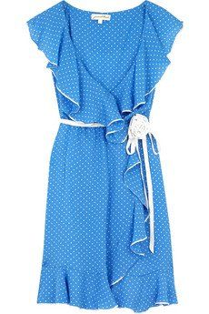vintage wrap dress - i want to wear this for photos with addie
