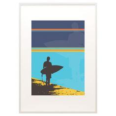 Surfer print