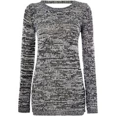 Vero Moda Long Sleeved Open Back Knitted Jumper (1.840 RUB) ❤ liked on Polyvore featuring tops, sweaters, women, black long sleeve sweater, open back long sleeve top, open back top, open back sweater and black sweater