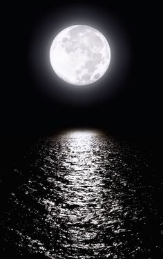the water and the moon are inseparable...without one,there is no the other