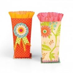 Sizzix French Favor Boxes