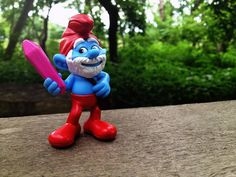 Papa Smurf  - the #Smurfs are back at McDonald's!