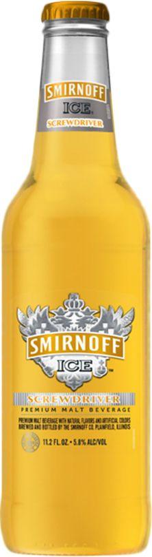 Smirnoff screwdrivers.. taste just like orange juice! :) these are SO good!!