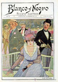 REVISTA BLANCO Y NEGRO AÑO 1916 Nº 1329 - 5 DE NOVIEMBRE Revista crónica social y anuncios de época