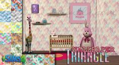 Sims 4 CC's - The Best: Wallpaper by 3lodiie26