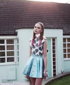 Feminine Adolescent Fashion - The Volt 'Just A Kid' Editorial Stars a Youthful Anne Kruger (GALLERY)